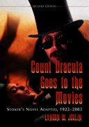 Count Dracula Goes to the Movies Book