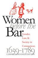 Women Before the Bar