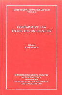 Comparative Law Facing the 21st Century