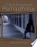Child And Adolescent Psychopathology Book PDF