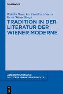 Tradition in der Literatur der Wiener Moderne