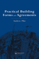 Pdf Practical Building Forms and Agreements