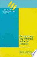 Recognizing the Intrinsic Value of Animals Book