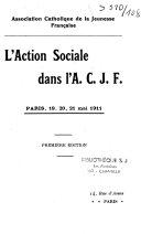 L'action sociale dans l'ACJF