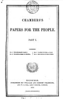 Chambers s papers for the people