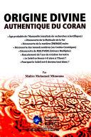 Pdf Origine divine authentiquede Coran Telecharger