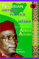 Nigerian History  Politics and Affairs