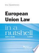 European Union Law in a Nutshell, 8th