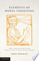 Elements of Moral Cognition