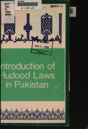 Introduction Of Hudood Laws In Pakistan
