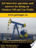 Job interview questions and answers for hiring on Onshore Oil and Gas Fields