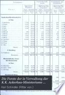 Die Forste der in Verwaltung der K.K. Ackerbau-Ministeriums stehenden Staats- und Fondsgüter : im Auftrage Seiner Excellenz des Herrn K. K. Ackerbau-Ministers Julius Grafen von Falkenhayn