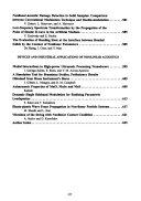 Nonlinear Acoustics - Fundamentals and Applications