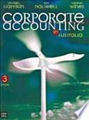 Corporate Accounting in Australia Book