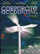 Corporate Accounting in Australia