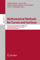 Mathematical Methods for Curves and Surfaces