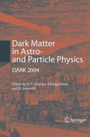 Dark Matter in Astro  and Particle Physics