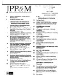 Journal of Public Policy   Marketing