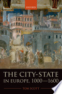 The City State In Europe 1000 1600