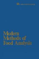 Modern Methods of Food Analysis Book