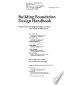 Building Foundation Design Handbook
