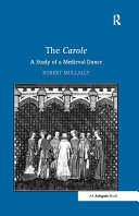 Pdf The Carole: A Study of a Medieval Dance Telecharger