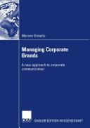 Managing Corporate Brands