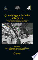 Quantifying the Evolution of Early Life Book