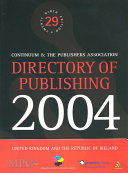 Directory of Publishing 2004