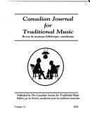 Canadian Journal for Traditional Music