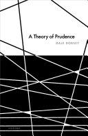 A Theory of Prudence [Pdf/ePub] eBook