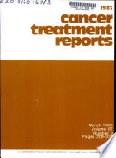 Cancer Treatment Reports Book