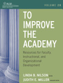 To Improve the Academy Book