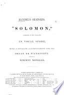 Handel's Oratorio