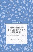 Reinventing Philosophy of Religion Pdf