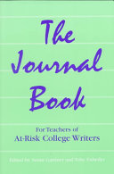 The Journal Book for Teachers of At risk College Writers