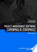 Project Management Software  OpenProj   ZohoProj