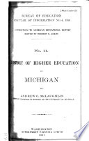 Circular of Information of the Bureau of Education, for ..