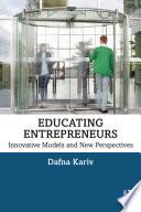 Educating Entrepreneurs