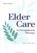 Pdf Elder Care in Occupational Therapy