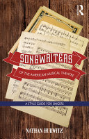 Pdf Songwriters of the American Musical Theatre Telecharger