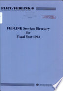 Fedlink Services Directory For Fiscal Year