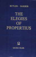 The Elegies of Propertius