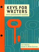 Keys for Writers with Assignment Guides