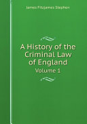 Pdf A History of the Criminal Law of England Telecharger