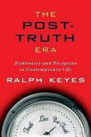 The Post-Truth Era Pdf/ePub eBook