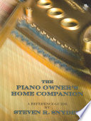 The Piano Owner's Home Companion