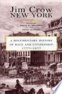 Jim Crow New York Book