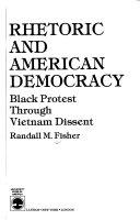 Rhetoric and American Democracy