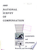 Report on National Survey of Compensation Paid Scientists and Engineers Engaged in Research and Development Activities